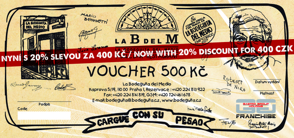 Voucher LBDM 500 with 20% discount