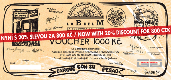 Voucher LBDM 1000 with 20% discount